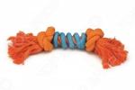 Игрушка для собак Beeztees «Канат с 2 узлами и спиралью»