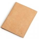 Кожаная обложка для документов (sand)