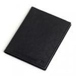 Кожаная обложка для документов (black)